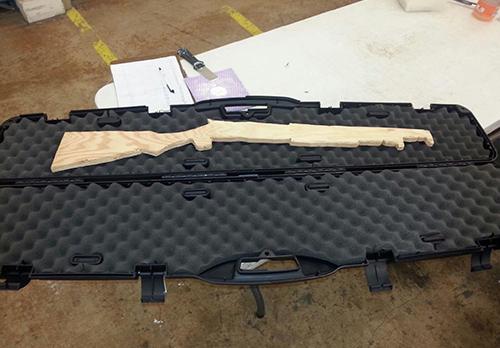 Weighted Gun Cases