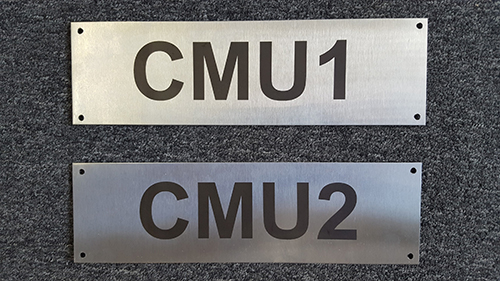 Engraved Plates