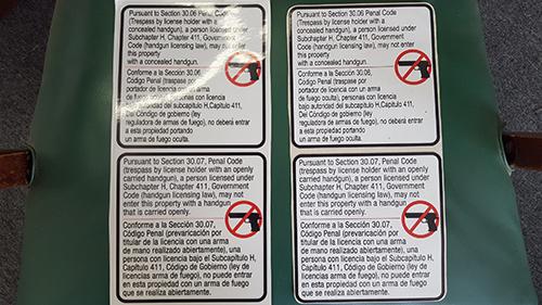 Firearm Labels